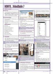 HOWTO...VideoStudio 7 - PCNews