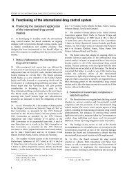 Report: International Narcotics Control Board for 2011 - INCB