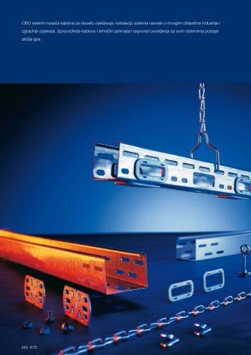 KTS. Sistemi nosača kablova za rasvetu - OBO Bettermann