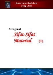 Sifat-Sifat Material - Ee-cafe.org