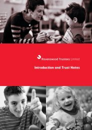 View the complete Introduction & Trust Notes Brochure - Norwood