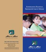 preparacion para el kinder - Mano-A-Mano Family Resource