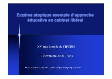 Télécharger l'intervention (pdf) - Ipcem
