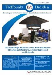 1/2007 - Berufsakademie Dresden