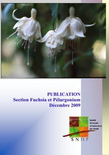 Décembre 2009 - Société Nationale d'Horticulture de France