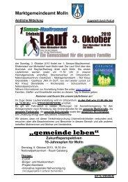 Amtliche Mitteilung - September (305 KB) - Molln