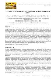 análise de desempenho do protocolo sctp em ambientes iptv