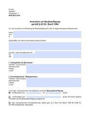 Baubewilligungsansuchen allgemein (247 KB) - Bad Ischl
