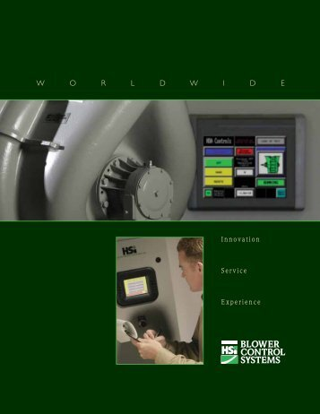 Blower Controls Brochure - HSI Blowers
