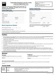 Student Registration Employer Registration Conditions Agreement ...