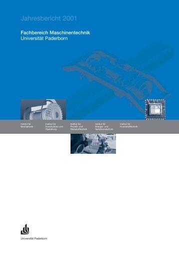Fachbereich Maschinentechnik - Fakultät für Maschinenbau ...