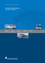 Fakultät für Maschinenbau - Universität Paderborn