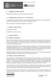 1. NOMBRE DEL MEDICAMENTO Montelukast Kern Pharma 4 mg ...
