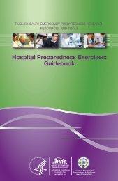 Hospital Preparedness Exercises - AHRQ Archive - Agency for ...