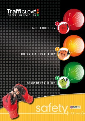 TrafficGlove Brochure - Barbour Product Search