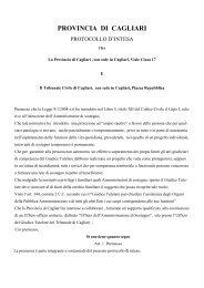 Protocollo d'intesa Ufficio Amministrazione di Sostegno - Sociale ...