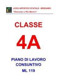 4A - Liceo Artistico Statale di Bergamo