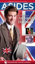 An Ideal Husband - The Shakespeare Theatre Company