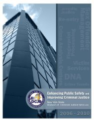 Enhancing Public Safety and Improving Criminal Justice