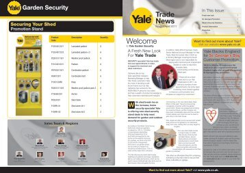 Welcome - Yale Door and Window Solutions, Locks Home Security ...
