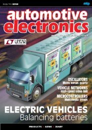 Shaun Mellors - Automotive Electronics