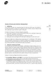 Notat analyse af kommunale initiativer - it i skolen 2009.pdf - EVA