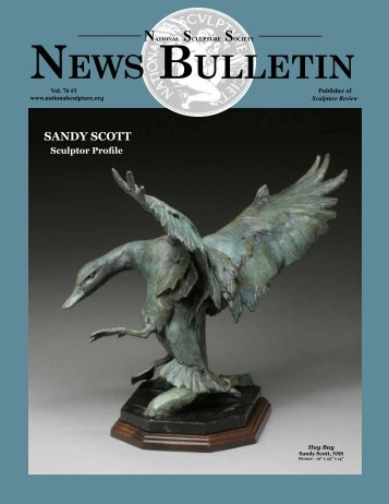 NEWS BULLETIN - the National Sculpture Society