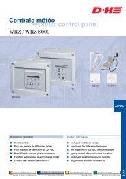 weather control panel Centrale météo - D+H Mechatronic