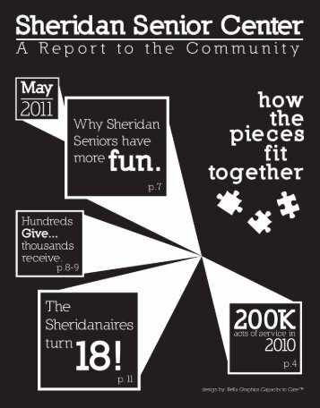 A Report to the Community - Sheridan Senior Center