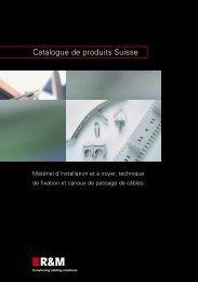 Catalogue de produits Suisse (R146835)