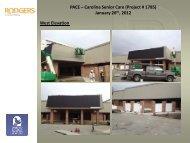 PACE – Carolina Senior Care (Project # 1785) January 26th, 2012 ...