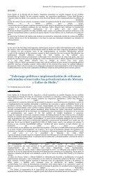 """""""Liderazgo político e implementación de reformas orientadas al ..."""
