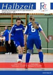 Quartal 1/2013 - FC Lippe Detmold