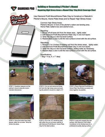 Building or Renovating A Pitcher's Mound - Diamond Pro