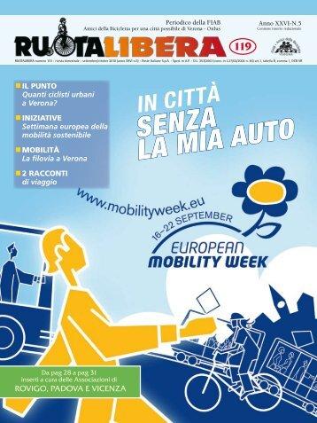 SENZA LA MIA AUTO - Amici della Bicicletta di Verona