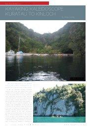 Kayaking Kaleidoscope: Kuratau to Kinloch - New Zealand Kayak ...