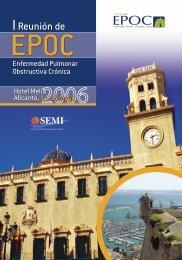 I Reunión de EPOC - Sociedad Española de Medicina Interna