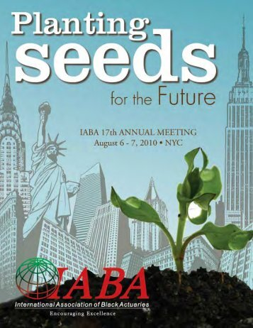 2010 Annual Meeting Program - International Association of Black ...
