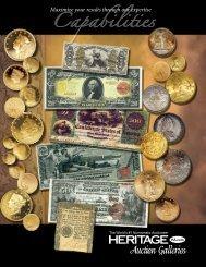 Capabilities - Heritage Rare Coin