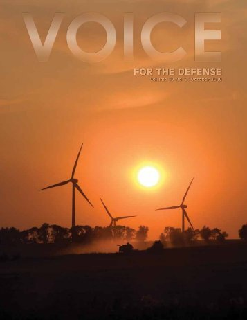 Voice For The Defense Online