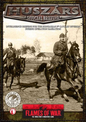 Huszárs (PDF)... - Flames of War