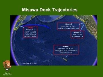 Misawa Dock Trajectories - NOAA