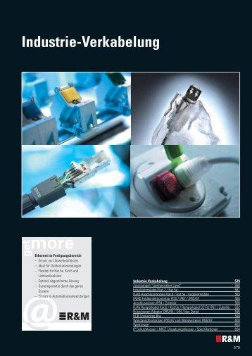 Industrie-Verkabelung - R&M