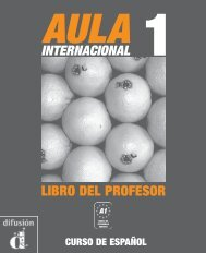 Aula internacional 1 - Libro del profesor - PDF descarga - Difusión