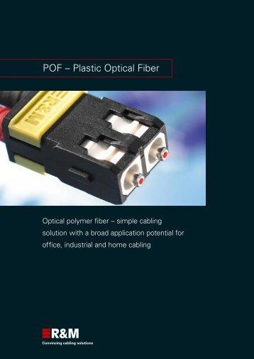 POF – Plastic Optical Fiber - R&M
