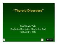 """""""Thyroid Disorders"""""""