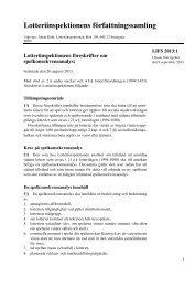 Läs mer om föreskrifterna i LIFS 2013:1, klicka här!