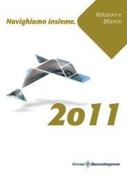 Relazione e Bilancio 2011 Iccrea BancaImpresa SpA - Assilea