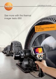 Testo 880 Brochure - CleanAir - Express Equipment Sales