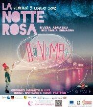 Notte Rosa programme - Ravenna